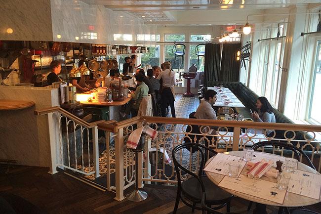 Inside Homer St. Café (Photo by Jess Fleming/Daily Hive)
