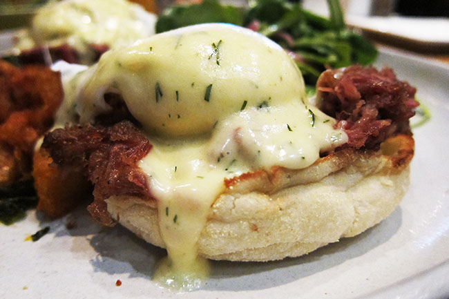 Eggs Benny (Jess Fleming / Daily Hive)