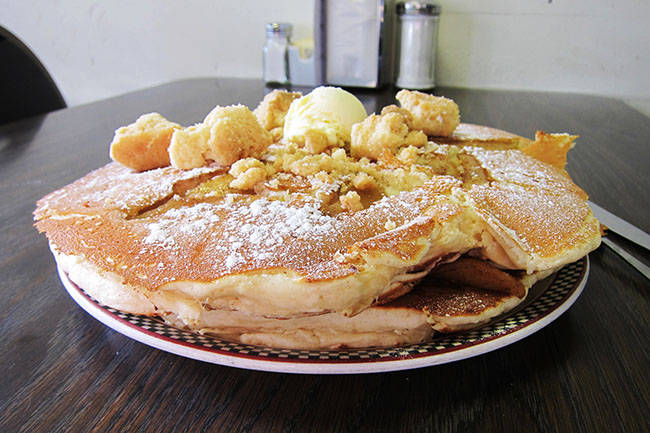 Grandma's Pancakes (Jess Fleming / Daily Hive)