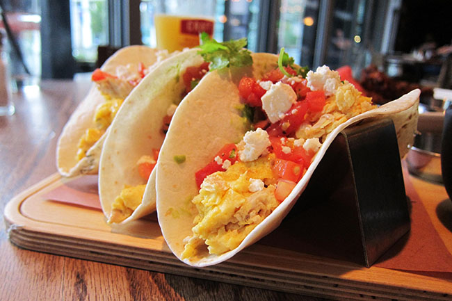Breakfast Tacos (Jess Fleming / Daily Hive)