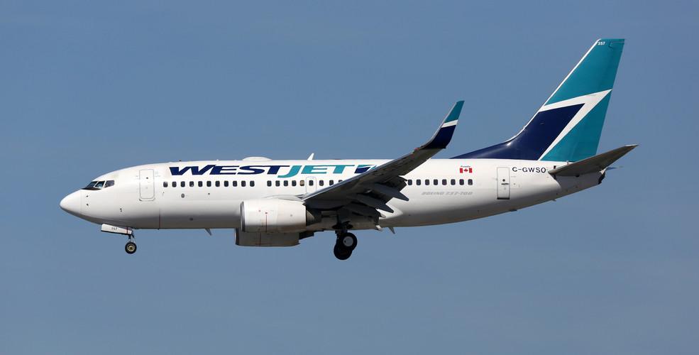West jet plane shutterstock