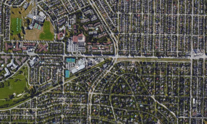 Image: Google Maps Satellite View