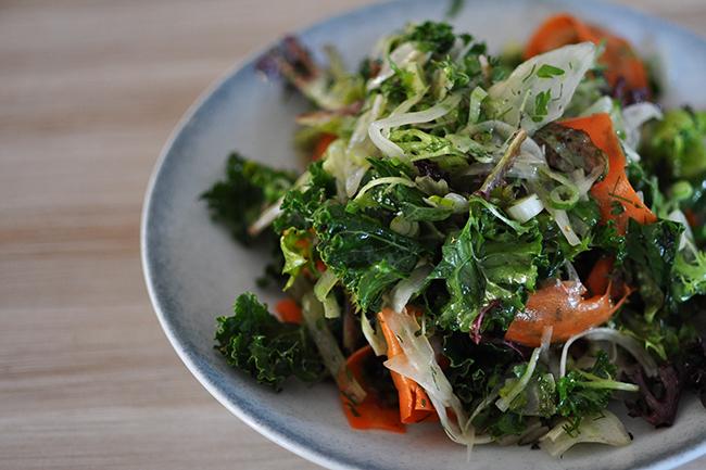 Organic Greens (Jess Fleming / Daily Hive)