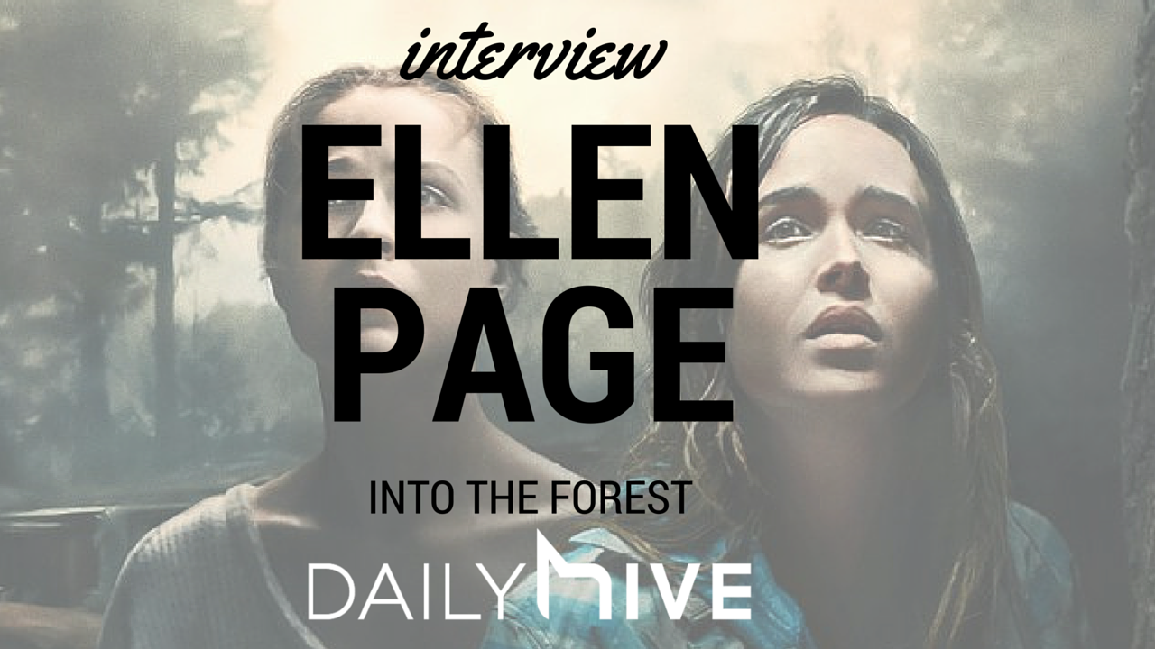 Ellen page into the forest