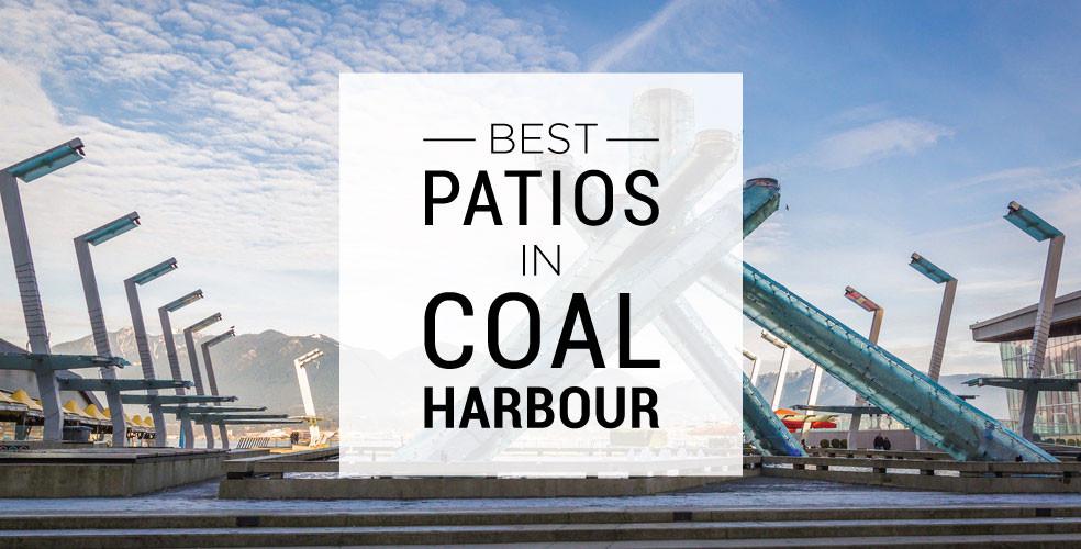 Best patios in coal harbour