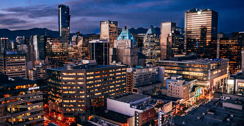 Vancouver at dusk alex costin flickr