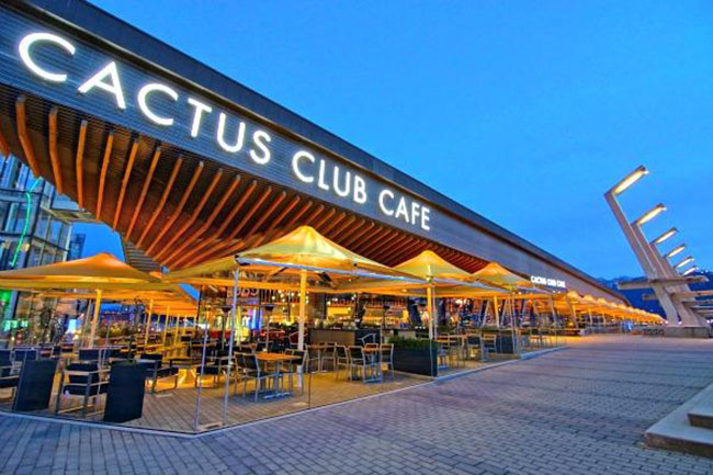 Cactus Club Cafe (Coal Harbour) / Facebook