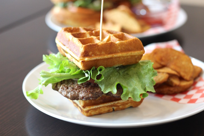 Waffle Burger (Lindsay William-Ross / Daily Hive)