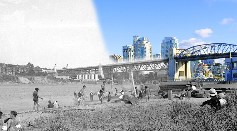 Kitsilano Then and Now (On This Spot)