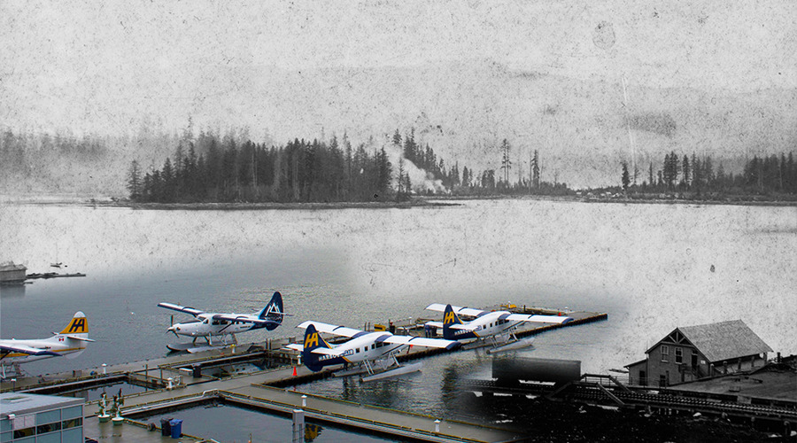 Stanley Park Then and Now (On This Spot)