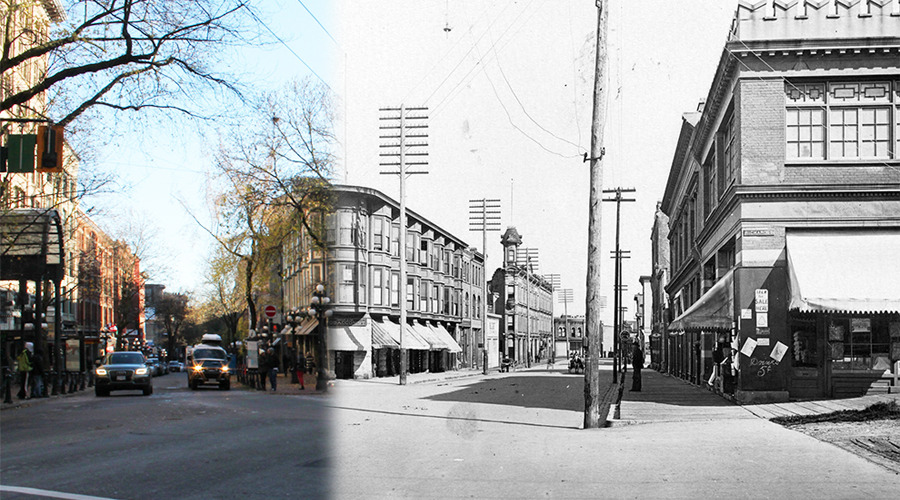 Gastown Then and Now (On This Spot)