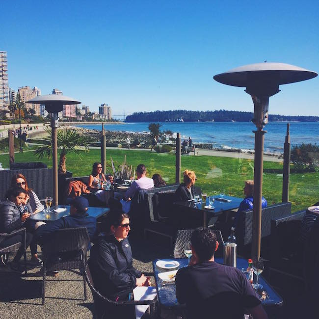 Beach House At Dundarave Pier: Best Patios On The North Shore