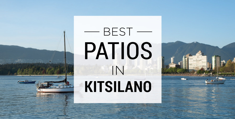 Best patios in Kitsilano