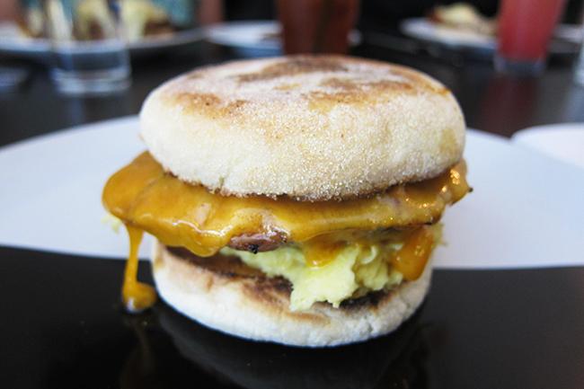 Breakfast Sandwich (Jess Fleming / Daily Hive)