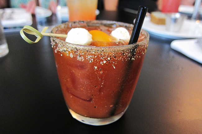 Late-morning Caesar (Jess Fleming / Daily Hive)