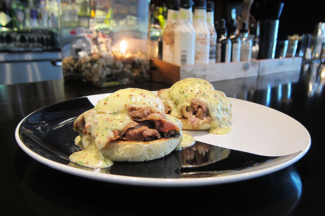 Beef Brisket Eggs Benedict (Jess Fleming / Daily Hive)