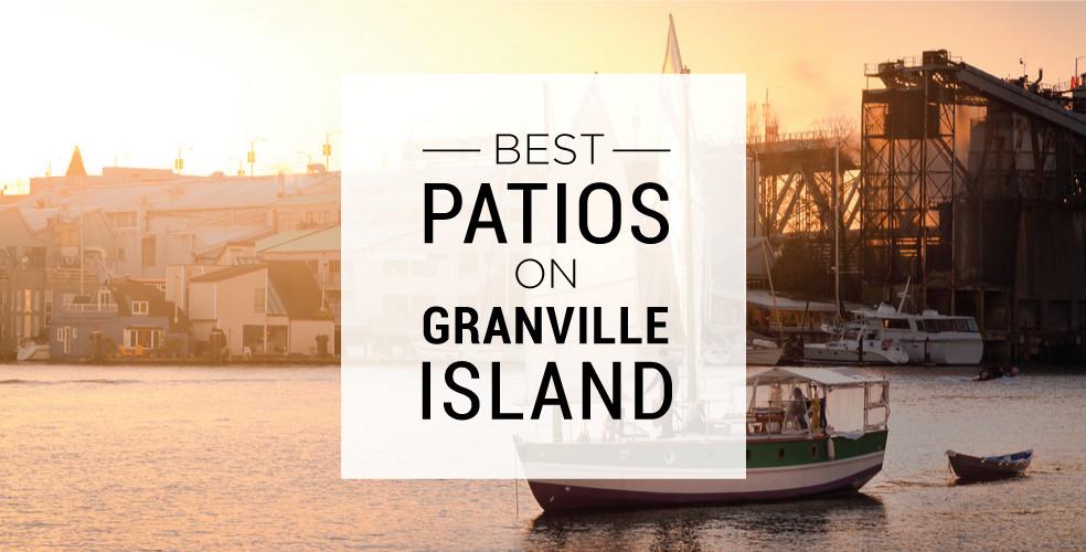 Best patios on Granville Island