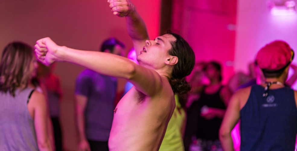 Kick off your weekend with Wake n Shake, a giant Vancouver dance party