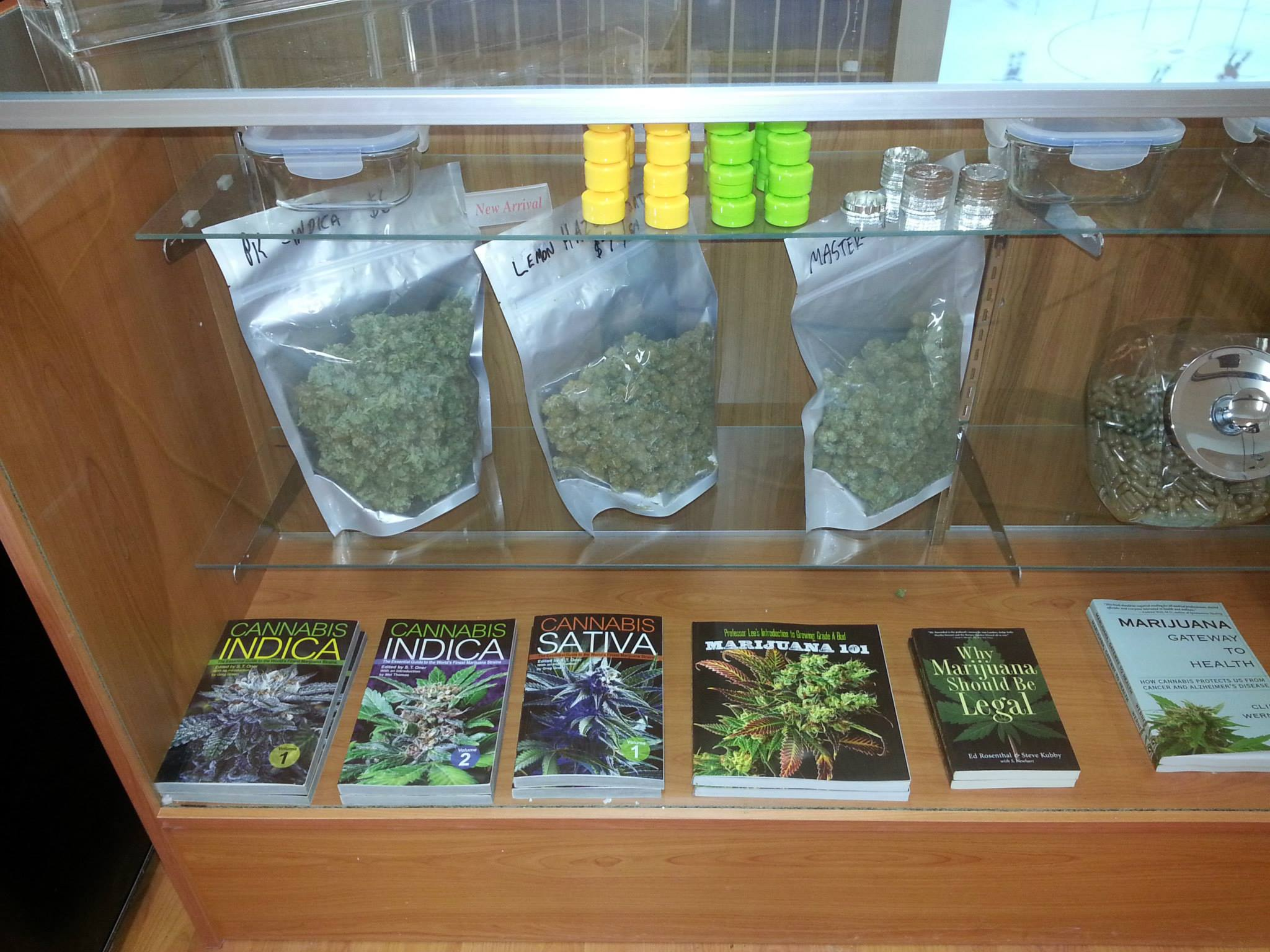 Products at BC Pain Society on Commercial Drive (BC Pain Society/Facebook)