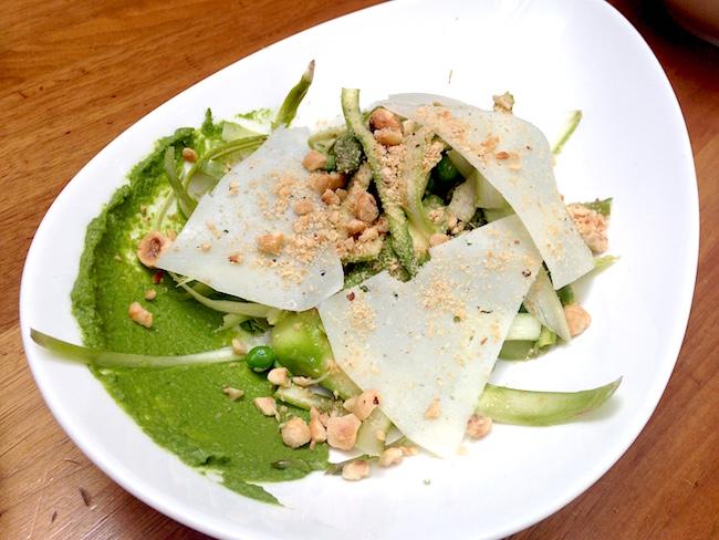 Asparagus Salad (Lindsay William-Ross / Daily Hive)
