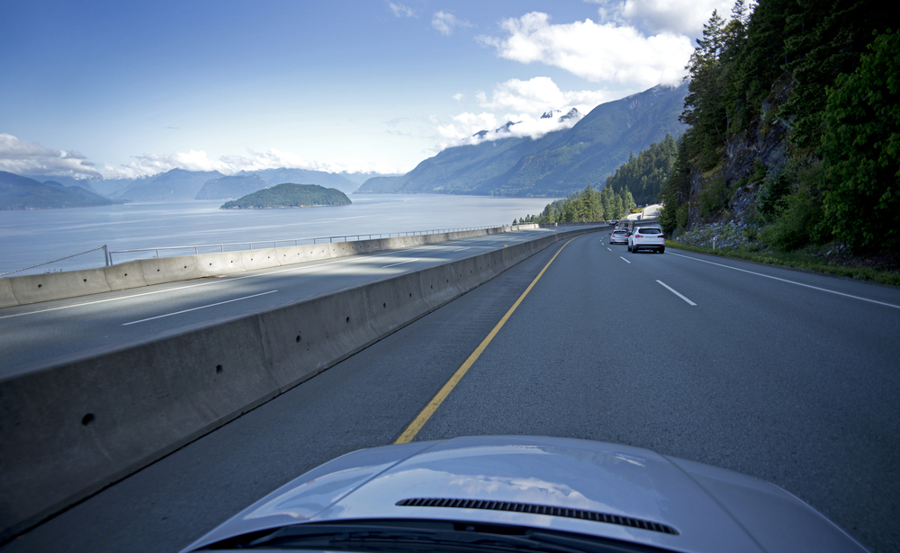 Adjustable speed limits introduced on Sea-To-Sky highway
