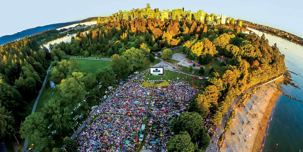 Dates announced for FREE outdoor movies in Stanley Park this summer