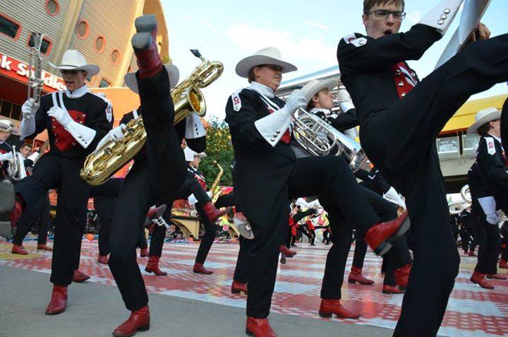 The Calgary Stampede Showband set to perform at Music 'n Motion 2016