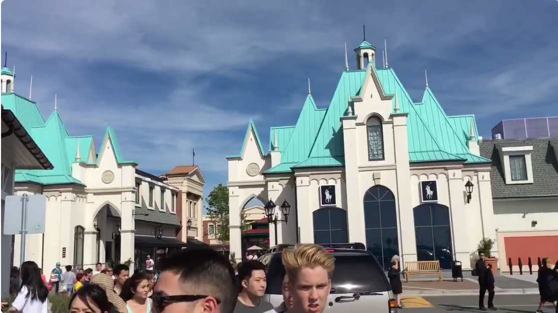 YVR outlet mall evacuated over weekend