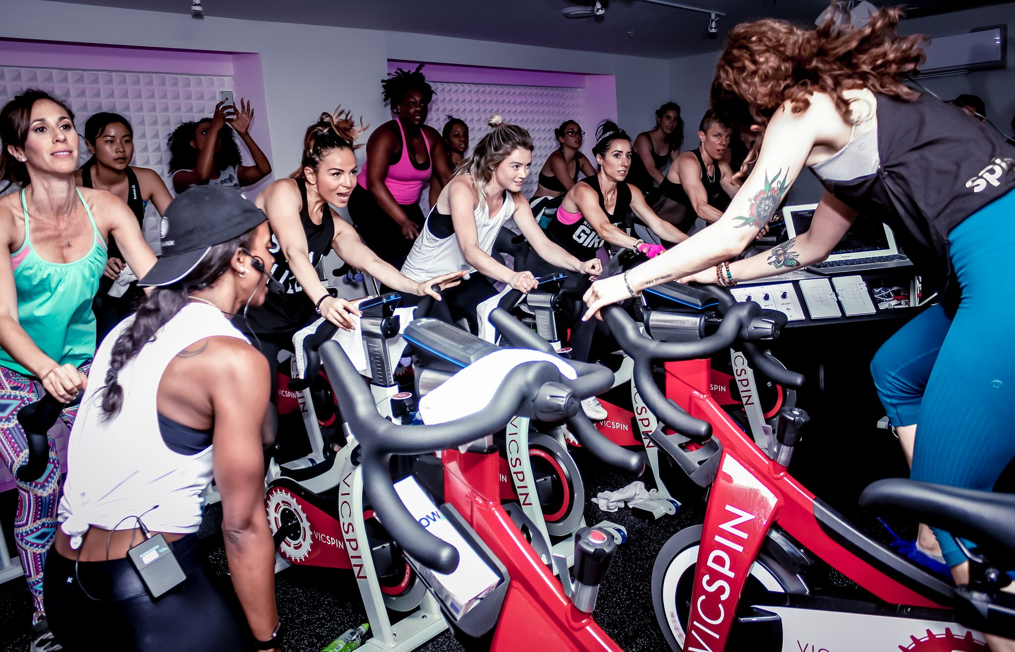 Here's the 411 on Victoria Park's new spin studio