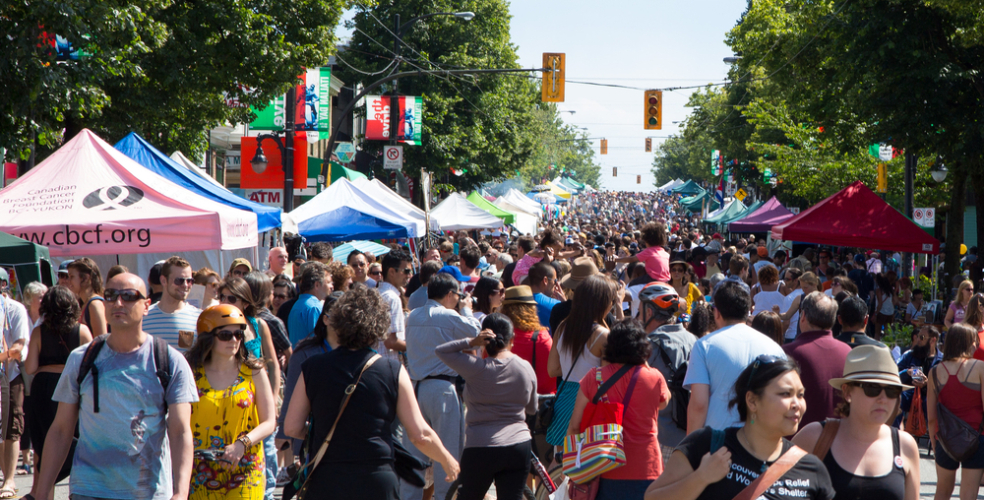 Car Free Day returns to Commercial Drive for 2016