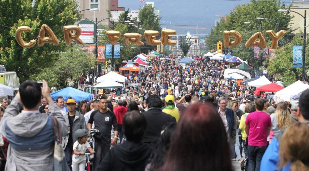 Car Free Day is coming to Main Street for 2016