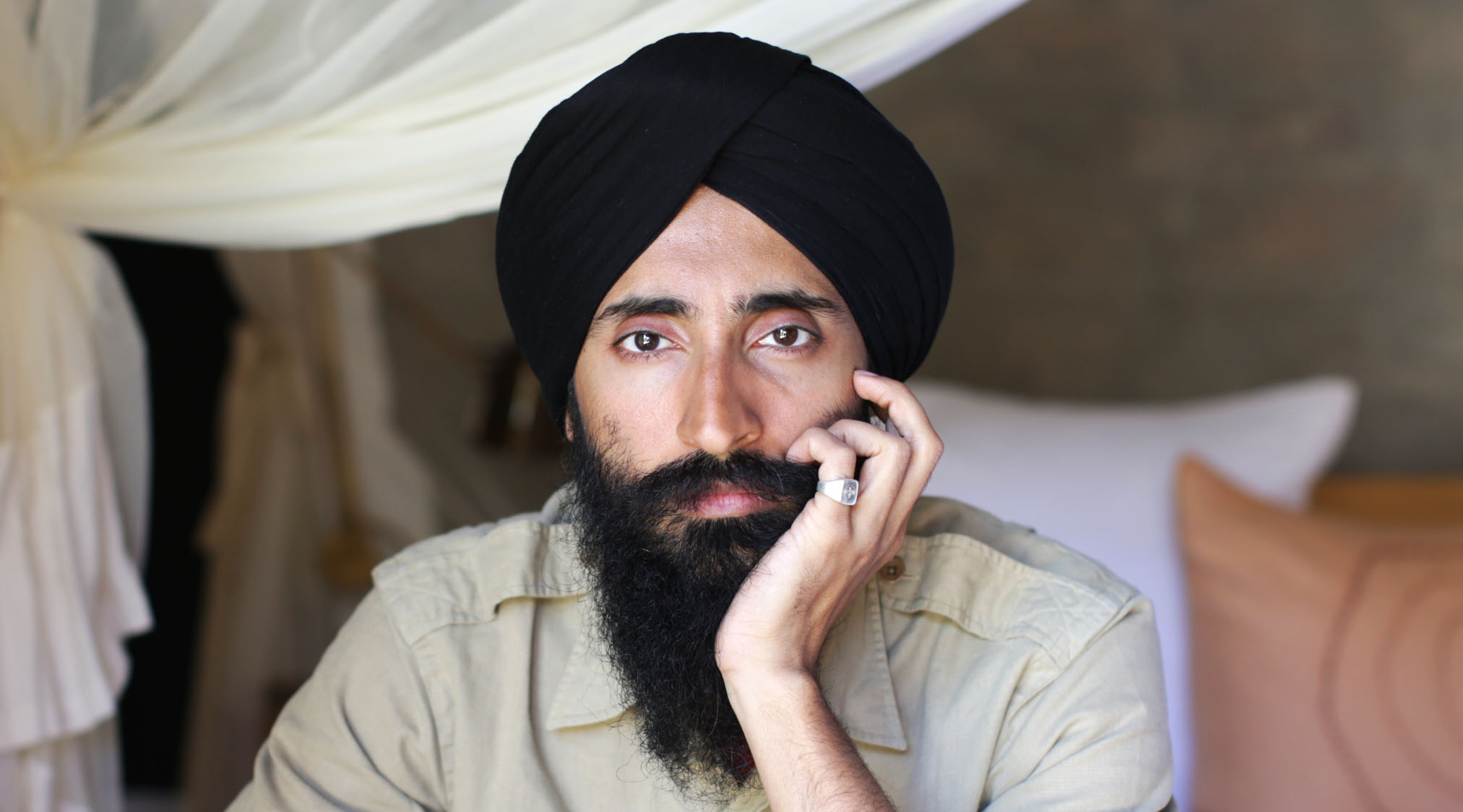 Interview: Waris Ahluwalia talks love, history, prejudice and beauty