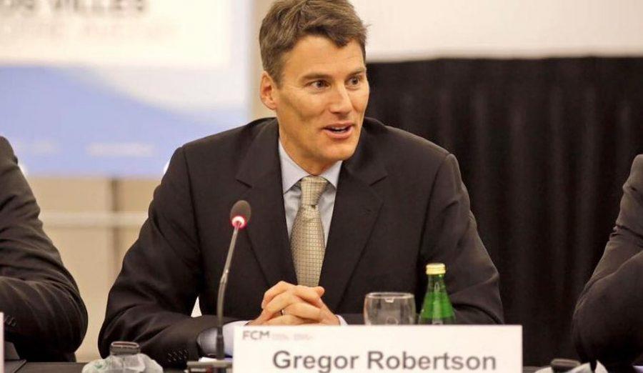 Vancouver Mayor Gregor Roberstson (Gregor Robertson/Facebook)
