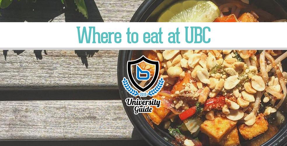 Vancouver Cheap Eats: UBC Campus