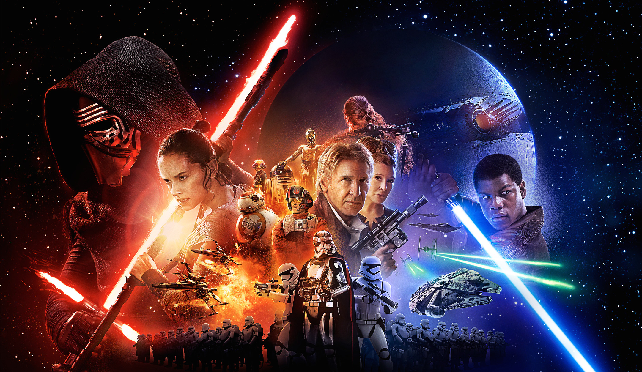 'Star Wars: The Force Awakens' at Free Outdoor Movies in Stanley Park