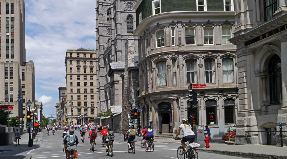 The most beautiful bike paths in Montreal
