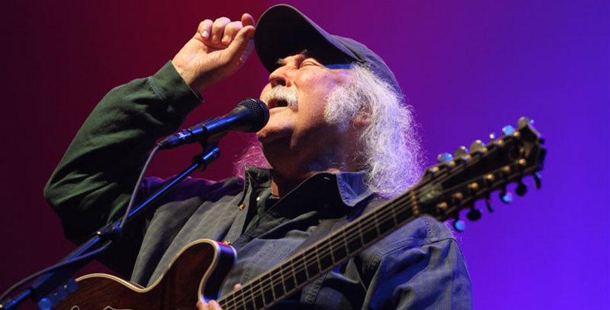 David Crosby Vancouver 2016 concert at the Vogue Theatre