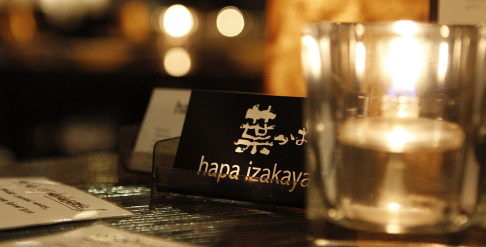 Hapa Izakaya on Robson now closed
