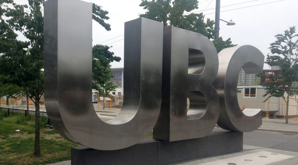 UBC sign (Raul Pacheco-Vega/Flickr)