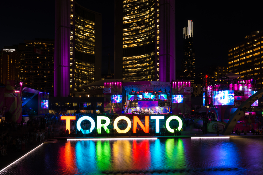 Nathan Phillips Square Toronto Sign