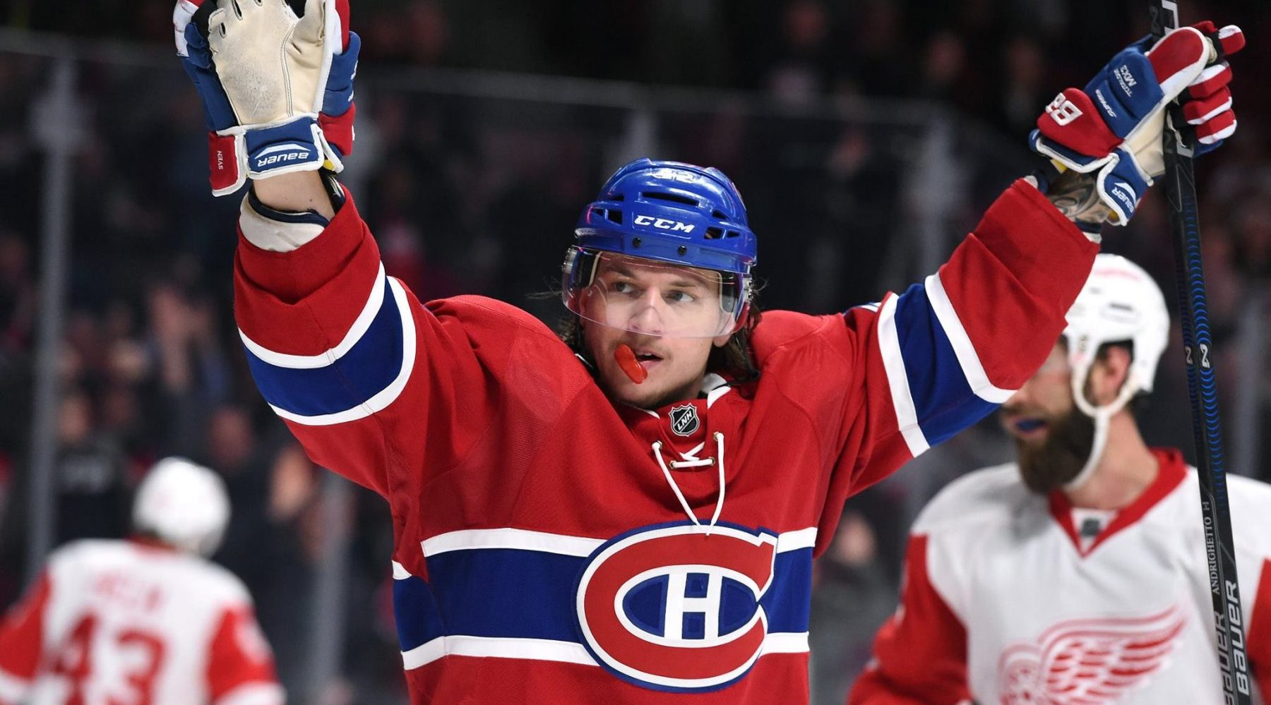 Canadiens re-sign winger Sven Andrighetto to one-year deal