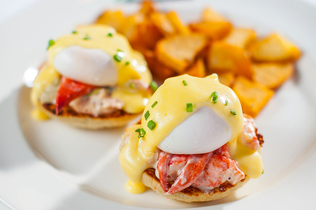 Lobster Eggs Benedict: Joe Fortes