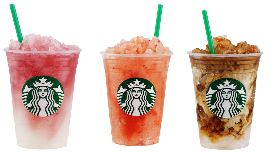 """New Starbucks """"sunset"""" menu puts dessert in a cup"""