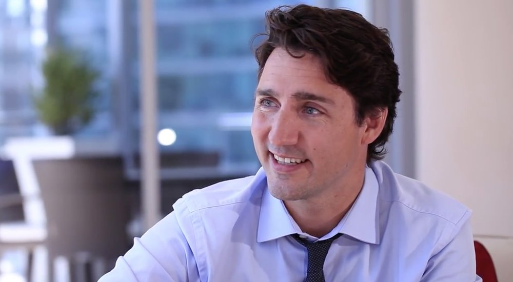Canadian Prime Minister Justin Trudeau (Daily Hive)