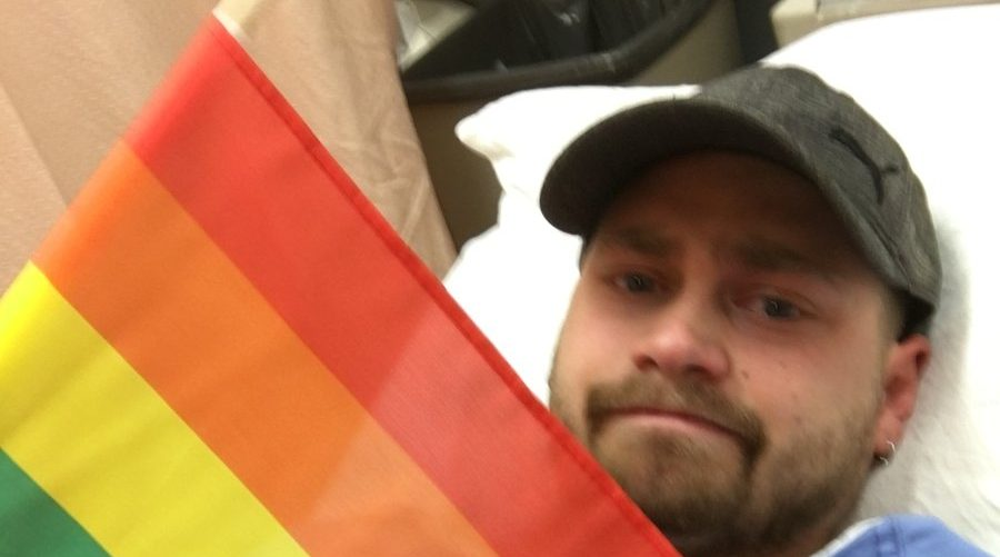 Man with pride flag assaulted on his way to Vancouver Orlando shooting vigil