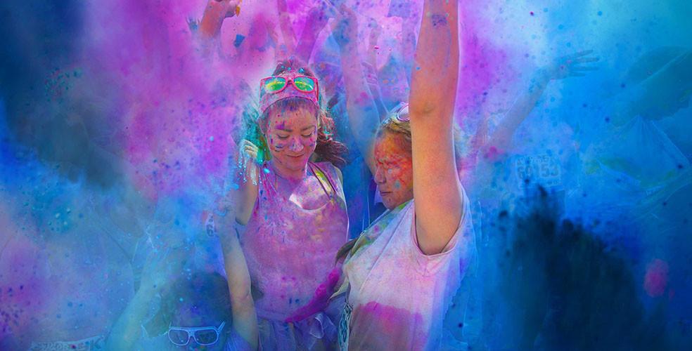 Color Me Rad 5K run set to paint Calgary powder pink