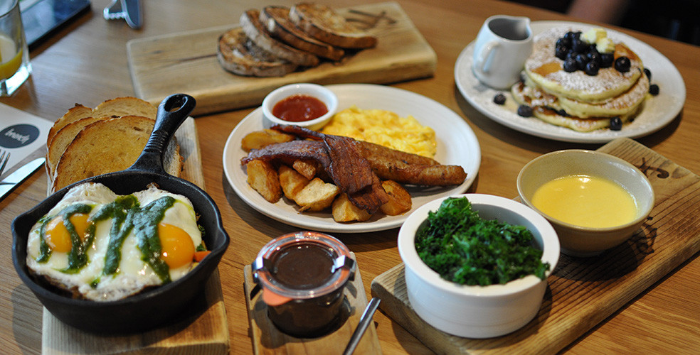 Best brunch in downtown Vancouver