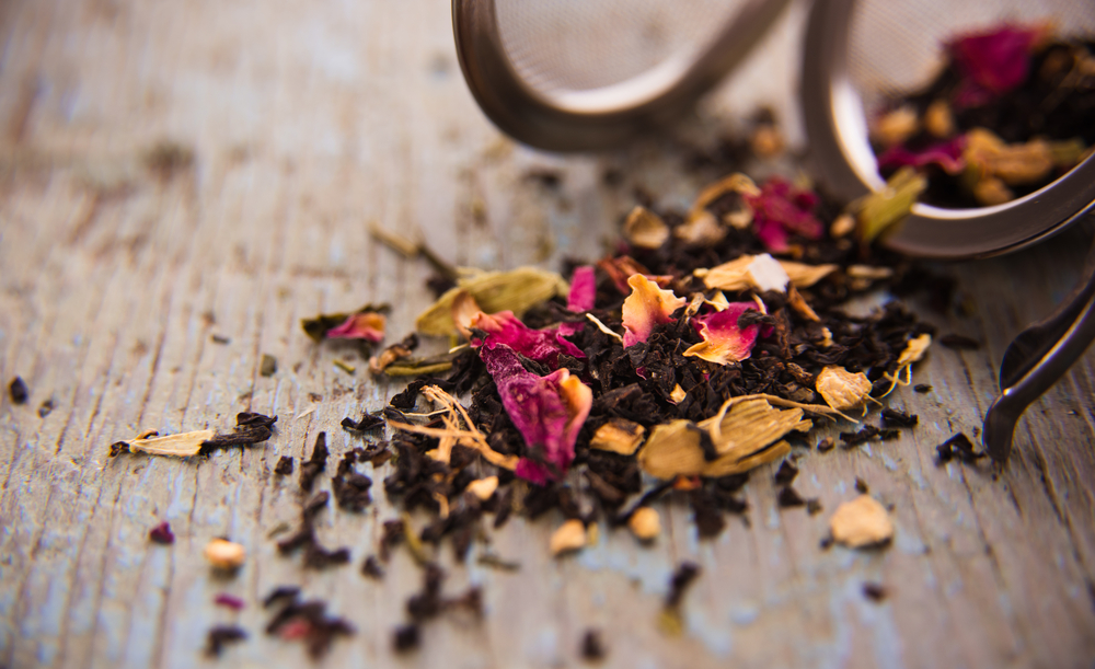 Loose leaf tea via Shuttestock