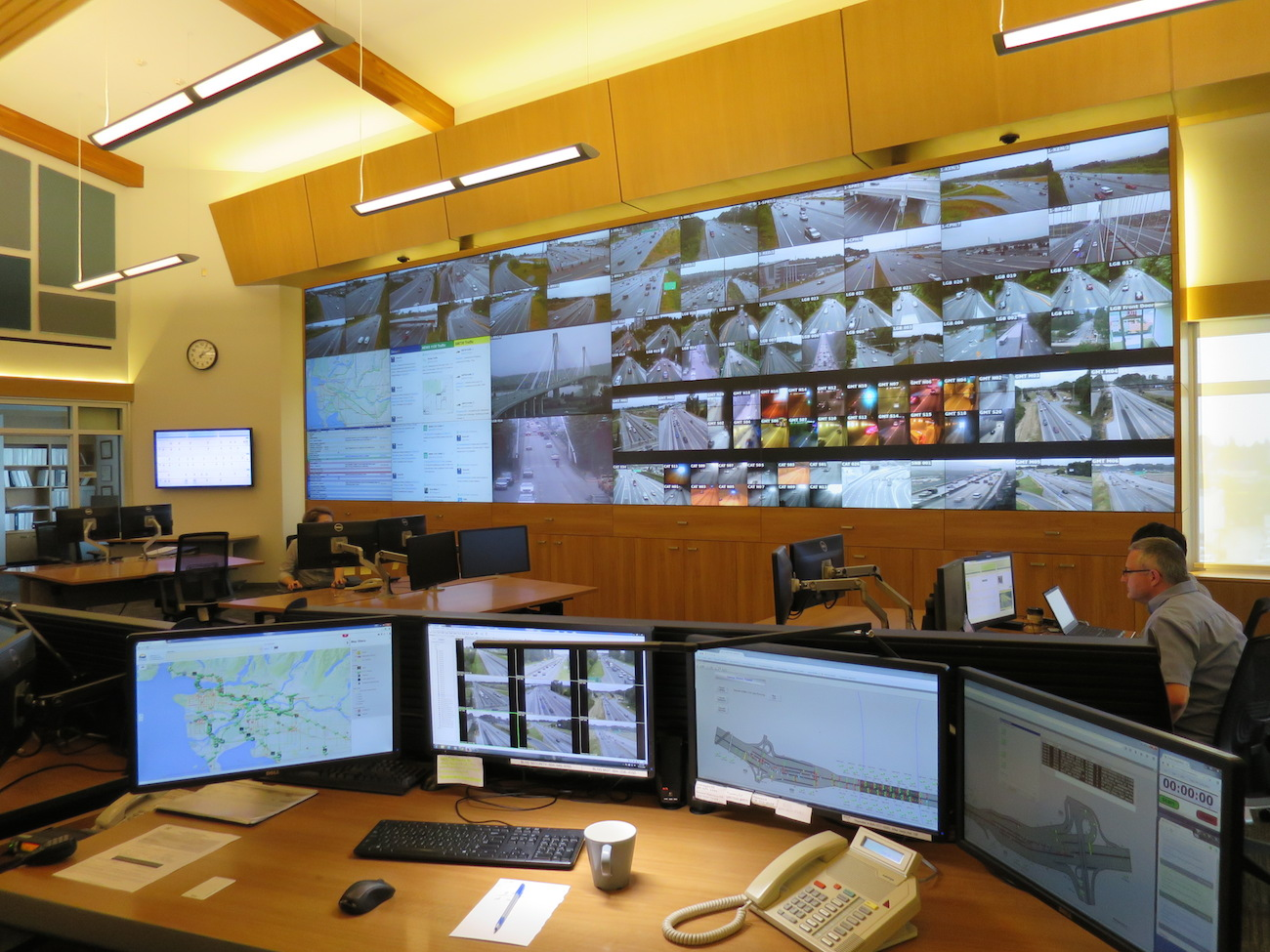 New state-of-the-art control centre in Metro Vancouver monitors roads with 600+ cameras