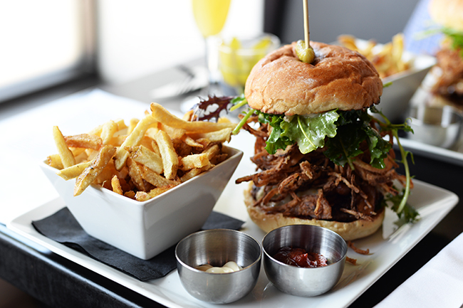 Brasserie Burger (Jess Fleming / Daily Hive)